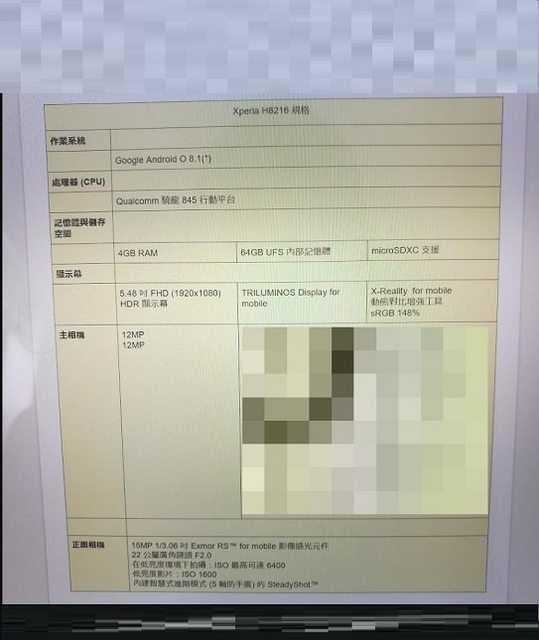 Sony Xperia XZ1s