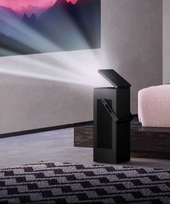 LG's New Tiny 4K Projector Deliver Massive 150-inch Screen