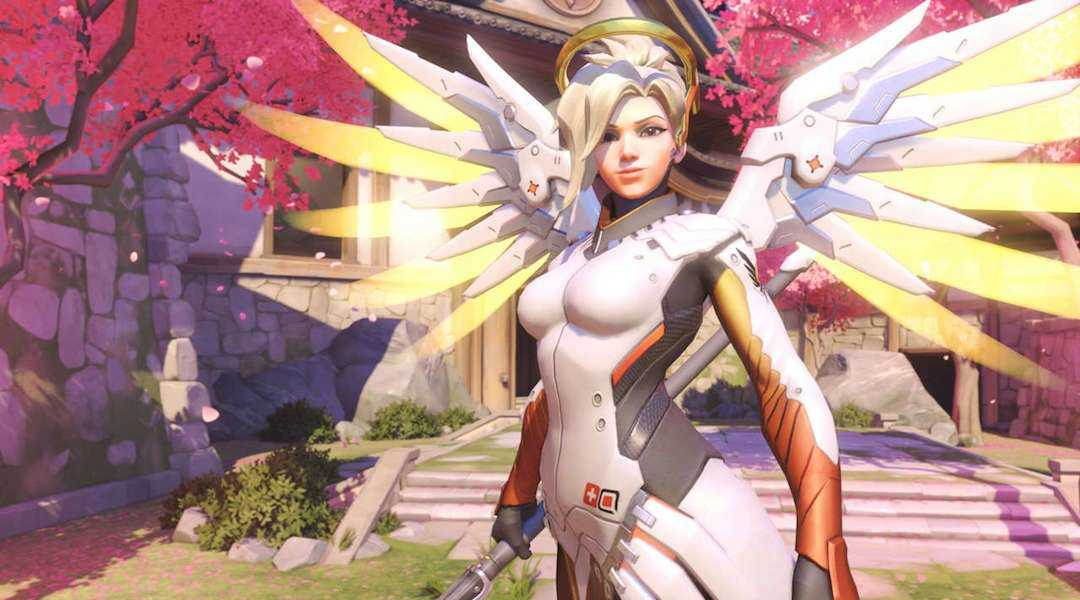 Recent Overwatch Update Nerfs Mercy and Junkrat