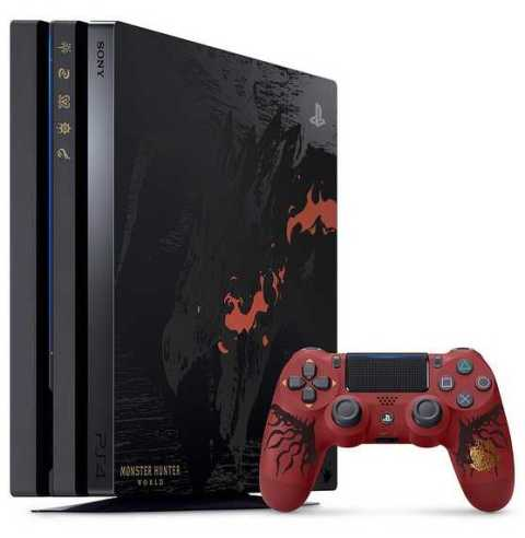 PlayStation 4 Pro Monster Hunter White Edition Set for Launch This Month
