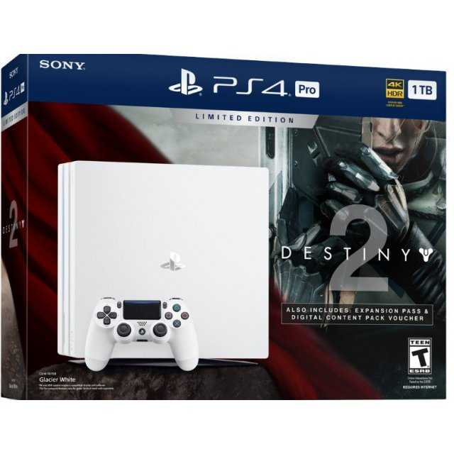 Sony Launching Glacier White PS4 Pro This Month