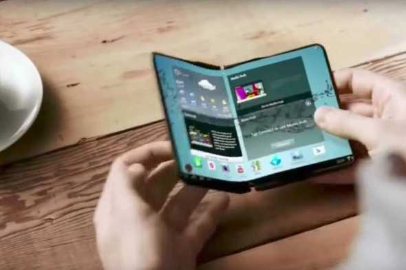Samsung has Completed Their Foldable Smartphone, CES 2018