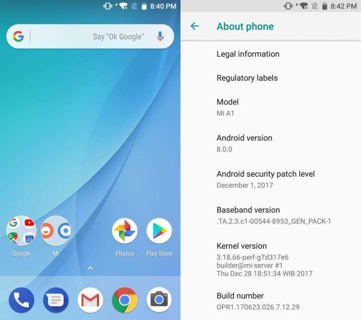 Xiaomi Mi A1 finally getting Android 8.0 Oreo