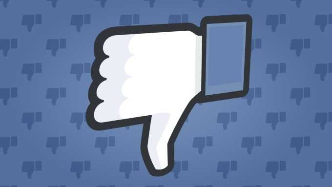 Facebook is Testing a Downvote Button