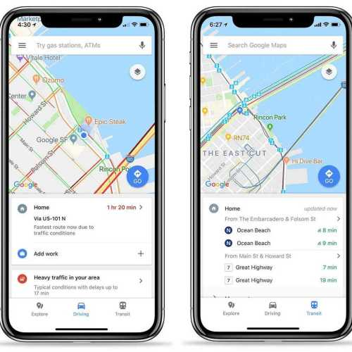 Google Maps for iOS Gets Huge Improvement with Quick Access Menu
