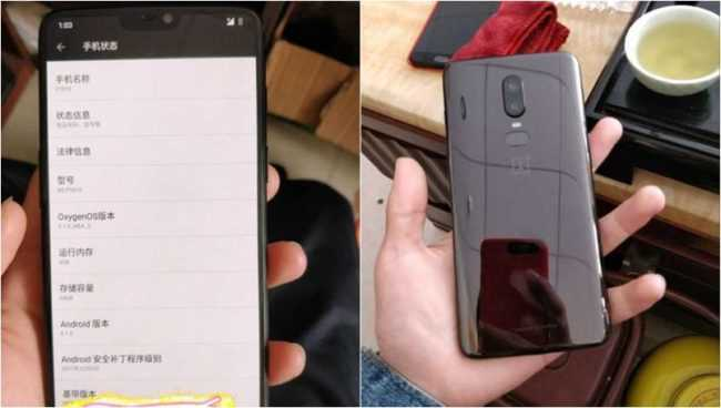 OnePlus 6 Leaked Photo Suggests the Best of iPhone X and Galaxy S9 is Coming Together