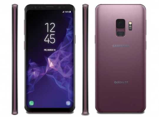 Samsung Galaxy S9+ Coral Blue Variant