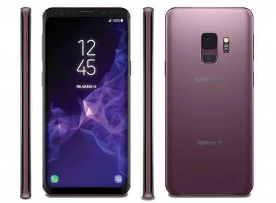 Samsung Galaxy S9+ Coral Blue Variant