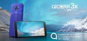 Alcatel 3X pricing