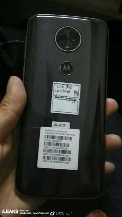 Moto E5 Plus Leaked Images