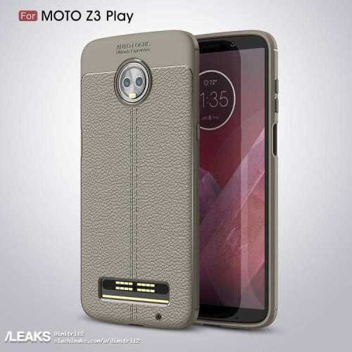 Moto Z3 Play Render