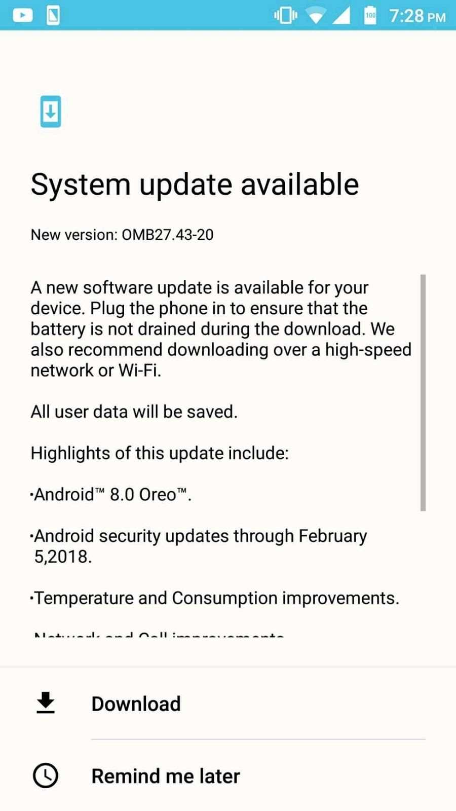 Updated:] Lenovo K8 Note Gets Android 8 0 Oreo Update