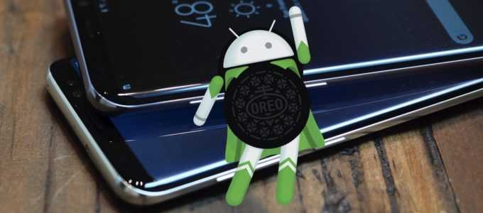 Samsung Galaxy S7 Android oreo update