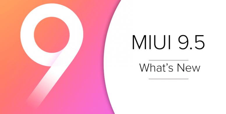 Xiaomi MiUi 9.5