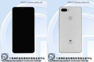 Xiaomi Mi 8 Youth Edition TENAA