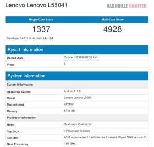 Lenovo S5 Pro