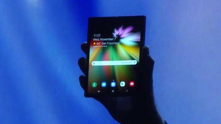 Samsung Galaxy Foldable Phone