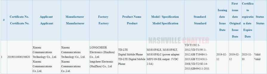 Xiaomi Redmi 7