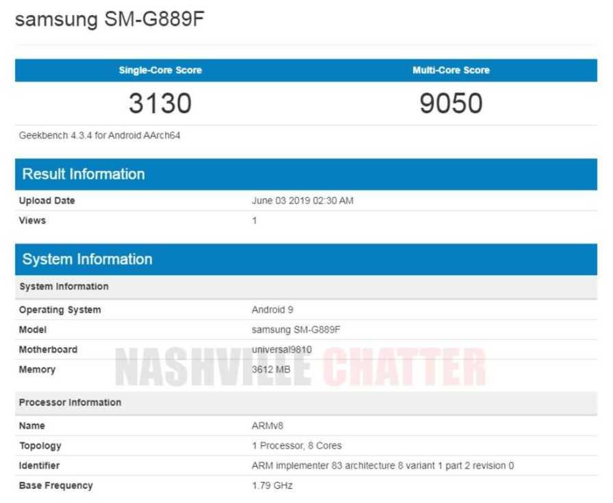 samsung SM-G889F