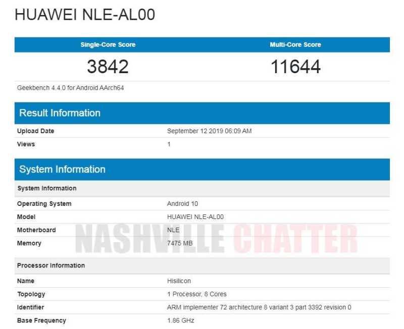 Huawei NLE-AL00