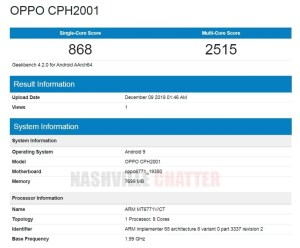 Oppo CPH2001