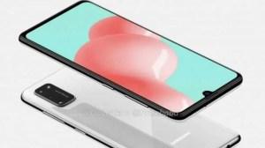Galaxy A41 renders