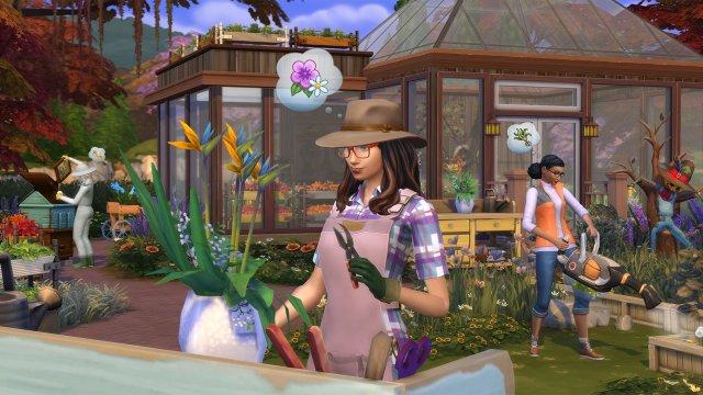 The Sims 4 free origins