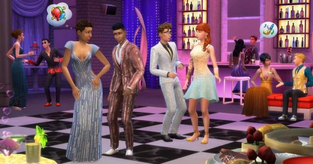 Sims 4 luxury party