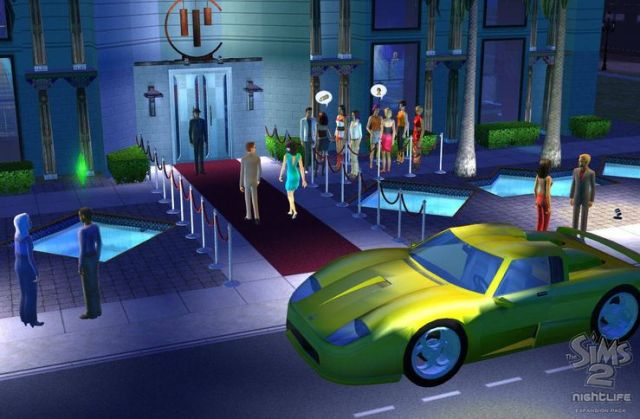 Sims 2 nightlife usable cars