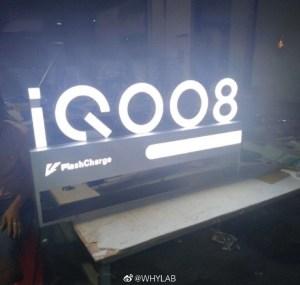 IQOO 8 leaked image