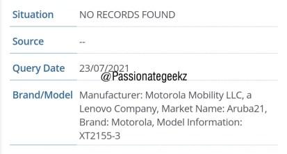 Motorola XT2155-3 IMEI Database