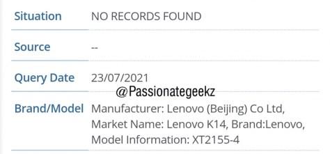Motorola XT2155-4 IMEI Database