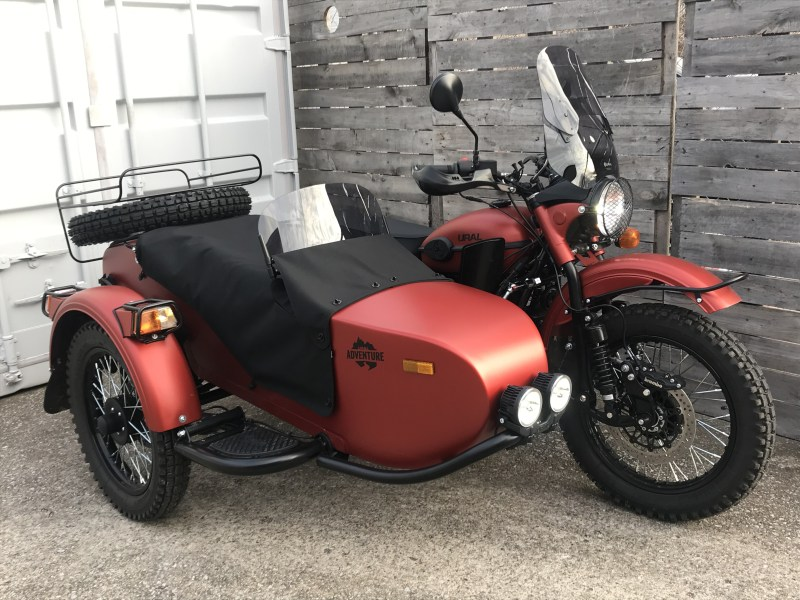 2021 Gear Up Terracotta Metallic Satin Adventure (Demo)