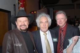 (L-R) Moe Bandy, Marty Martel, and Keith Bilbrey