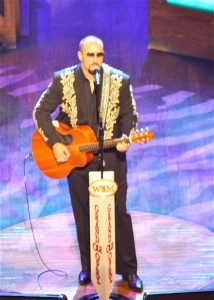 Eric Beddingfield debut at the Opry courtesy of ELB