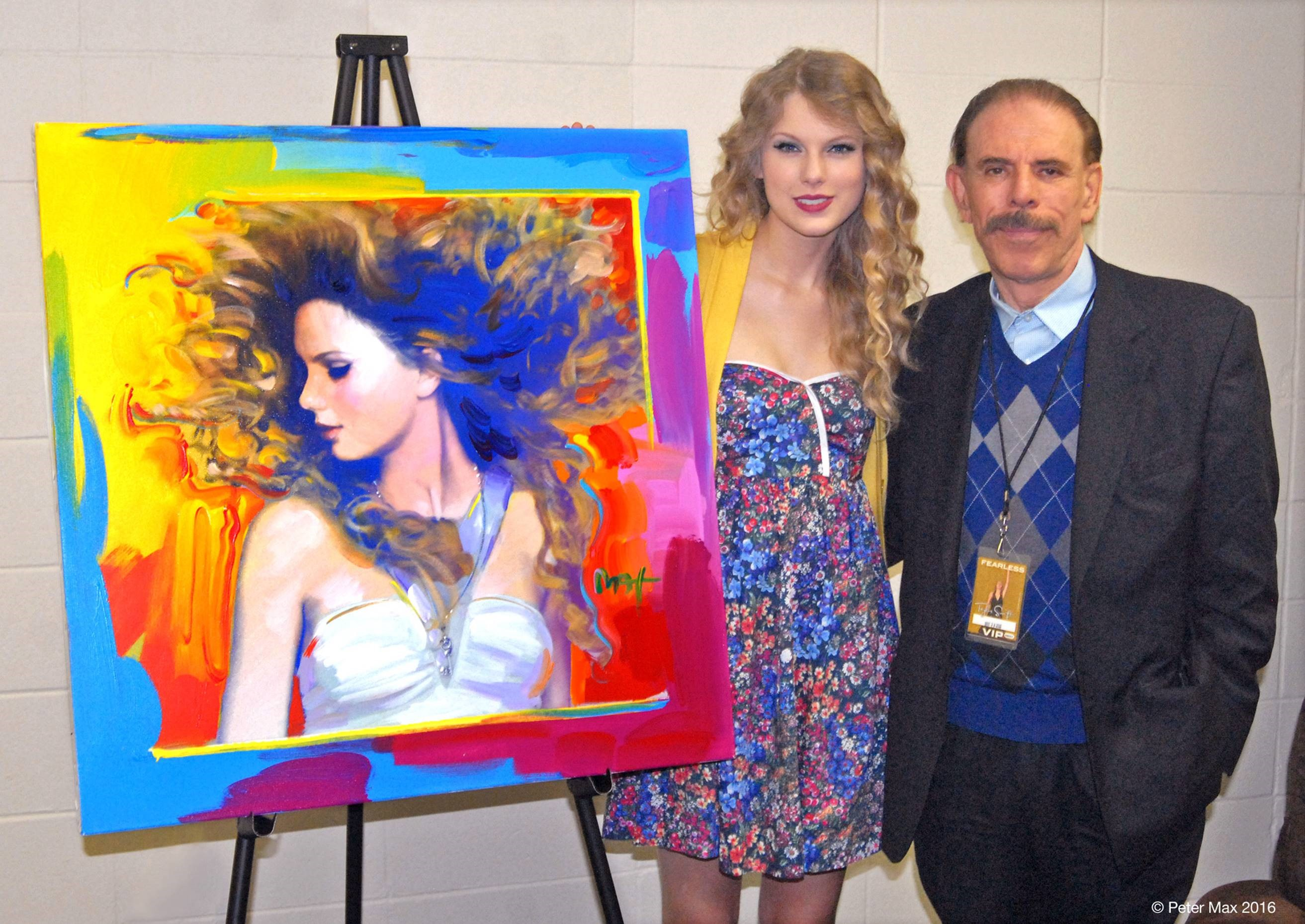 taylor swift by peter max