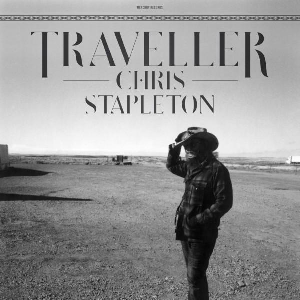 Chris Stapleton Traveller CD cover