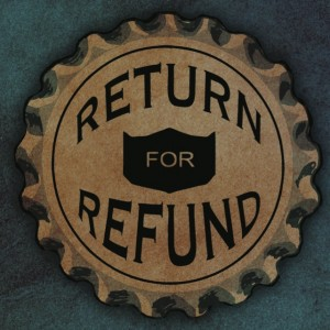 Return for Refund Album Cover courtesy of Independent Music Promotions