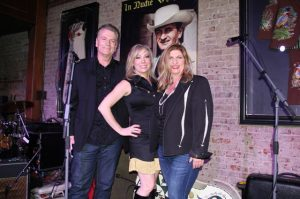 (l-r) Owner Bill Miller, Owner Shannon Miller & Nudie Cohn's Grand-daughter Jamie Nudie