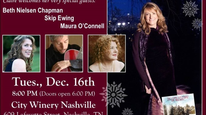 Claire brings Holiday! to Nashville