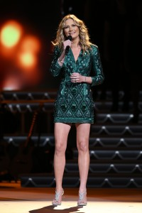 """Jennifer Nettles hosts """"CMA Country Christmas,"""" taped at the Grand Ole Opry House in Nashville and airing Thursday, Dec. 3 at 8/7c on the ABC Television Network."""