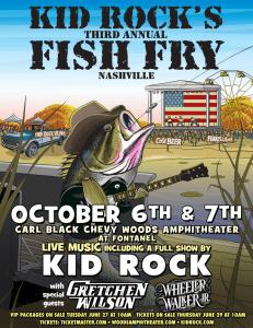 Kid Rock Fish Fry