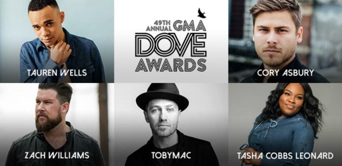 GMA Dove Awards nominees