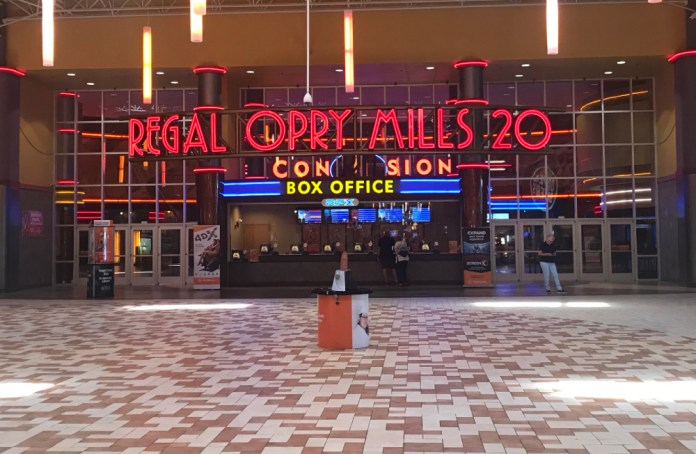 Regal Opry Mills Reopens