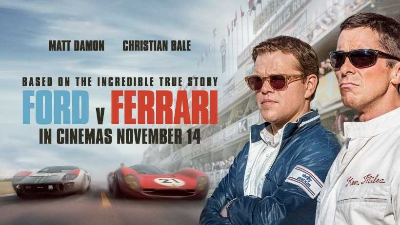 Review Ford V Ferrari Wins First Place In 4dx