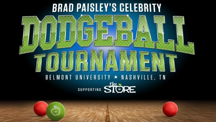 Brad Paisley Celebrity Dodgeball Tournament