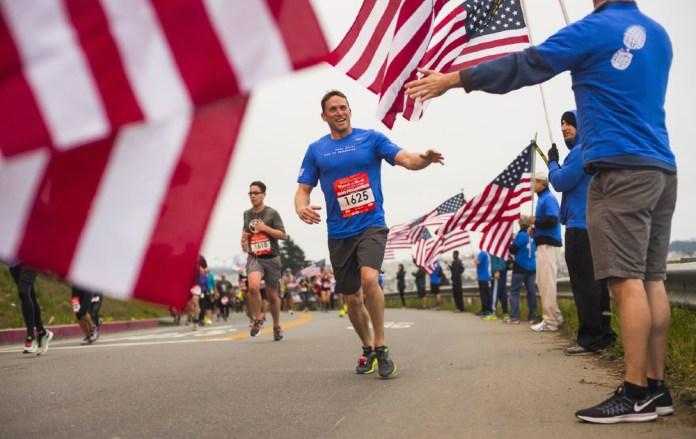 Wear Blue Mile St Jude Marathon