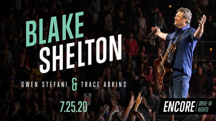 Blake Shelton Encore Drive-In Nights