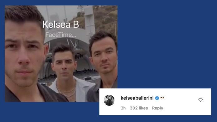 Jonas Brothers Tease Kelsea Ballerini Announcement
