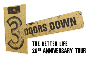 3 Doors Down Better Life 20th Anniversary Nashville